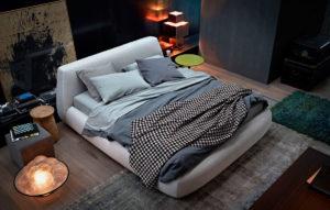 Фото мягкой кровати с водяным матрасом