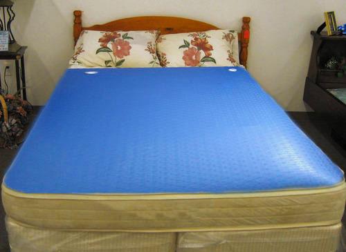 Фото кровати с водяным матрасом в интерьере комнаты