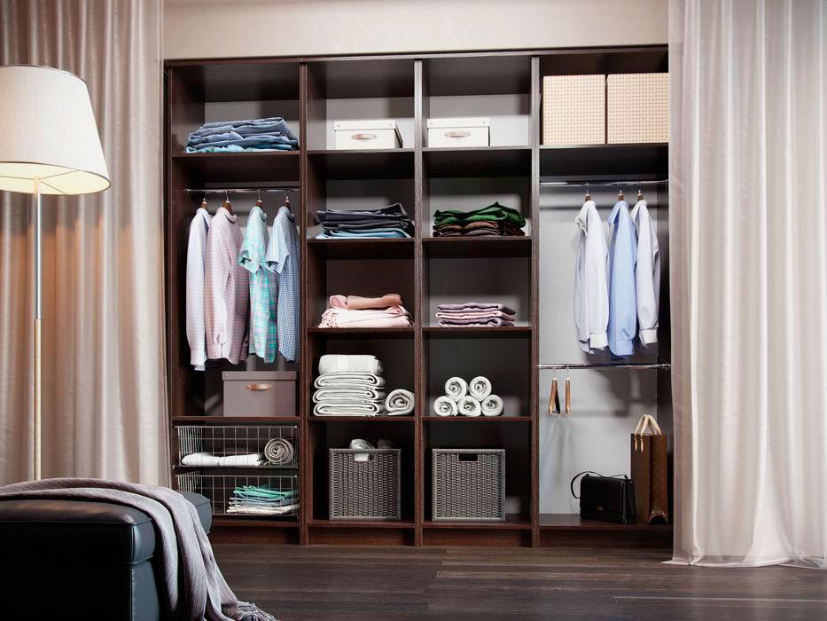 Фото модульного шкафа для гардеробной