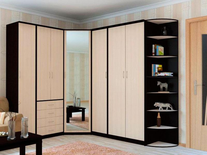 Модульный угловой шкаф для хранения вещей