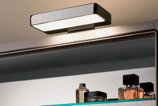 Наружный накладной светильник для шкафа