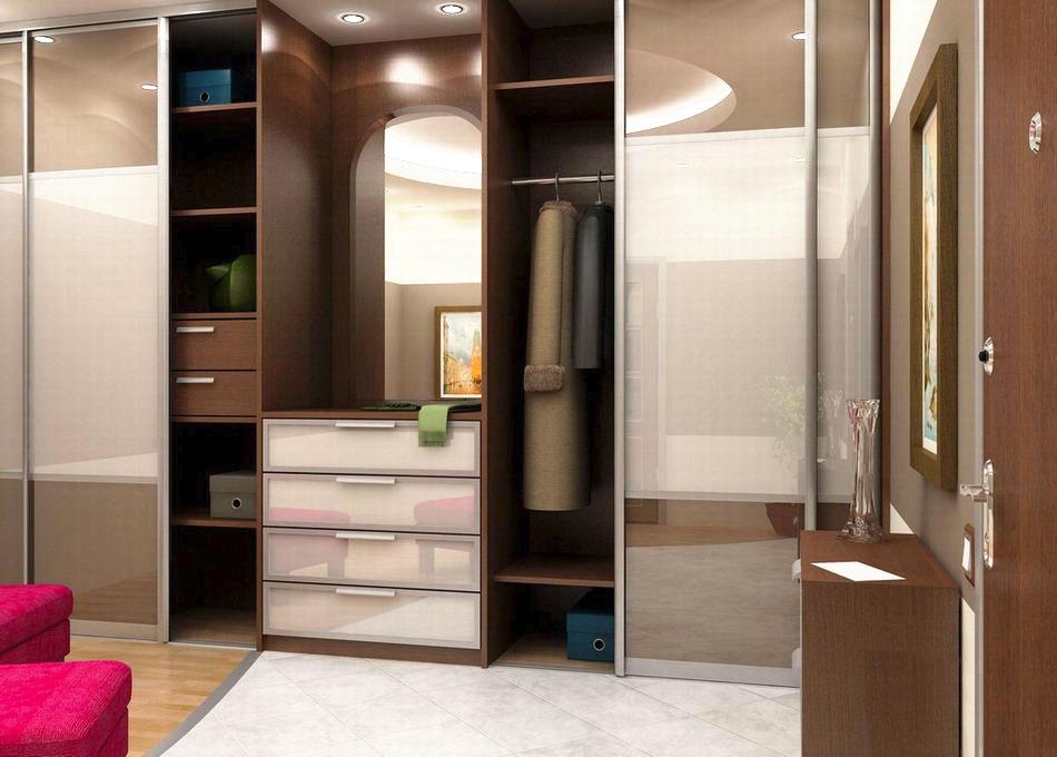 Встроенный шкаф в прихожую - какие бывают, как выбрать?.
