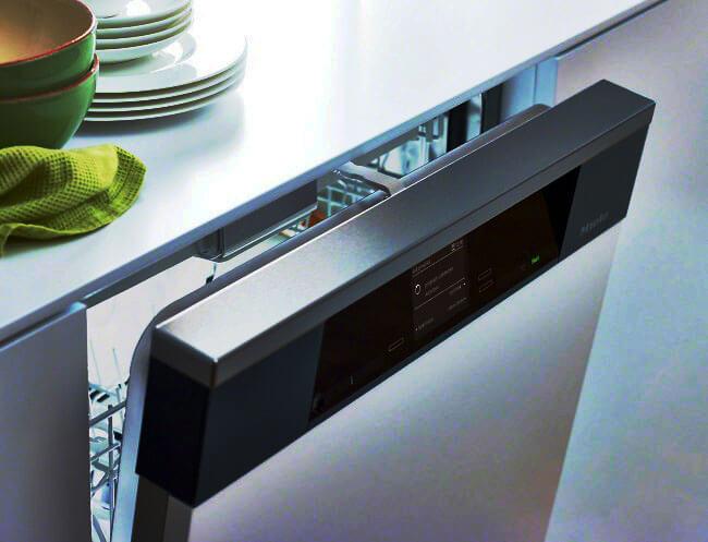 Посудомоечная машина с цифровым дисплеем