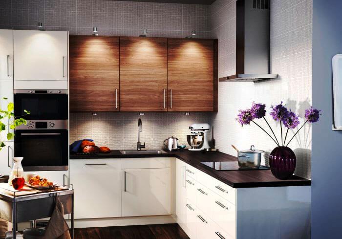 Угловой кухонный гарнитур