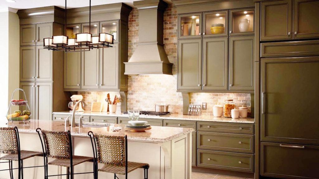Кухонный гарнитур в классическом мебельном стиле