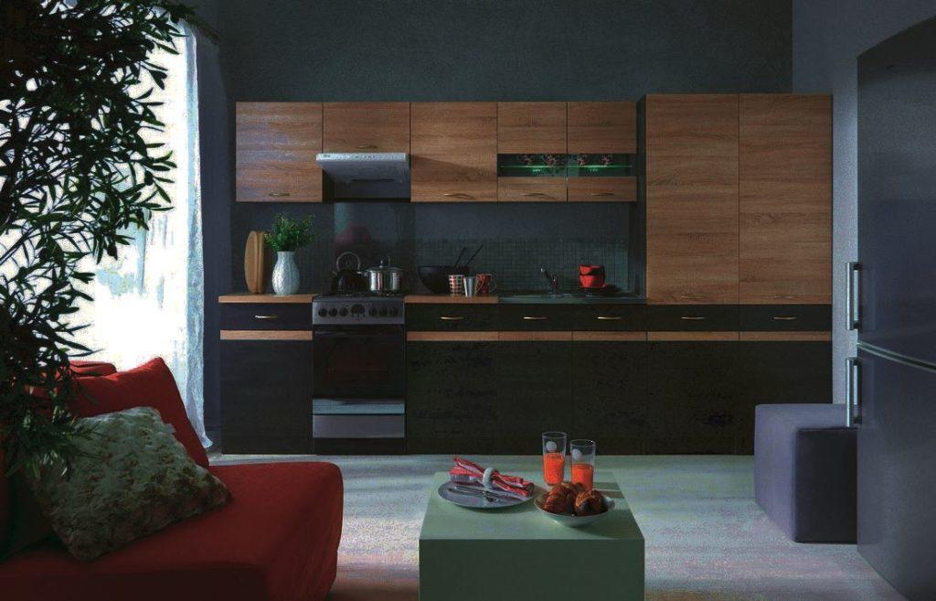 Фото мебельного гарнитура для кухни в интерьере