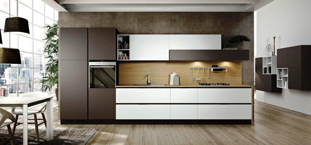 Фото современного кухонного гарнитура