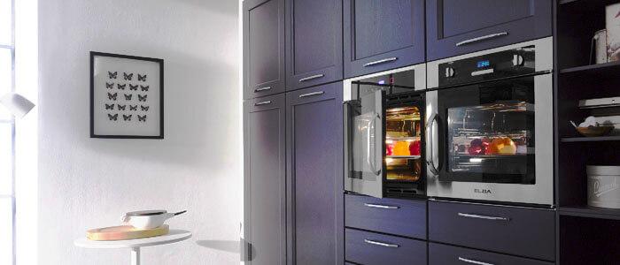 Фото духовых шкафов встроенных в пенал