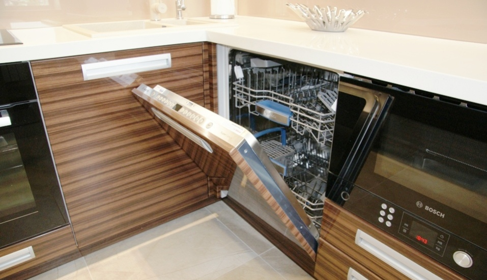Посудомоечная машина с навесным фасадом