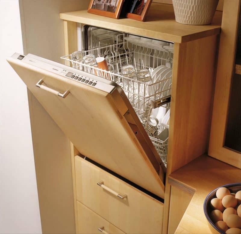 Посудомоечная машина встроенная в пенал