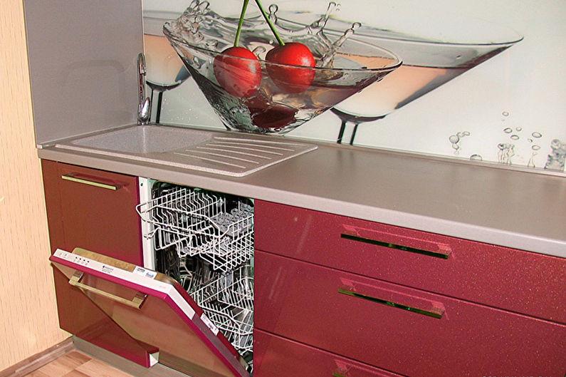 Посудомоечная машина с мебельным фасадом