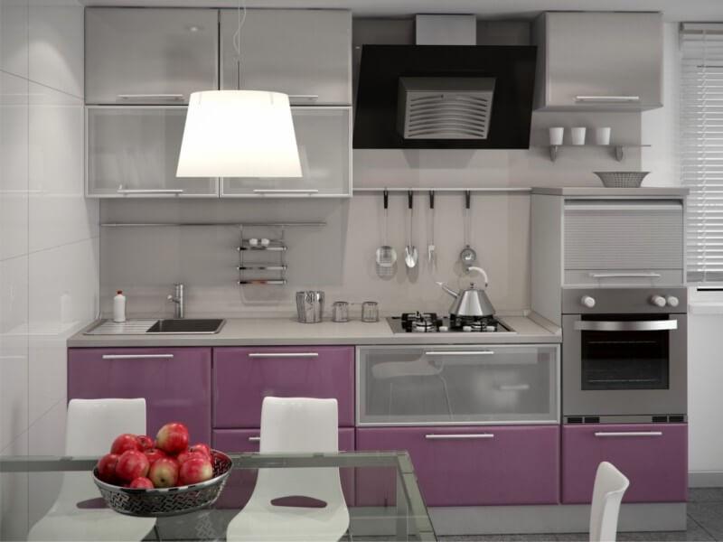 МДФ кухня с пленочным покрытием