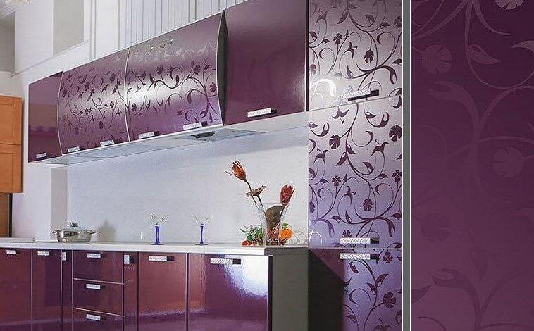 Кухонные фасады с пвх покрытием с узорами