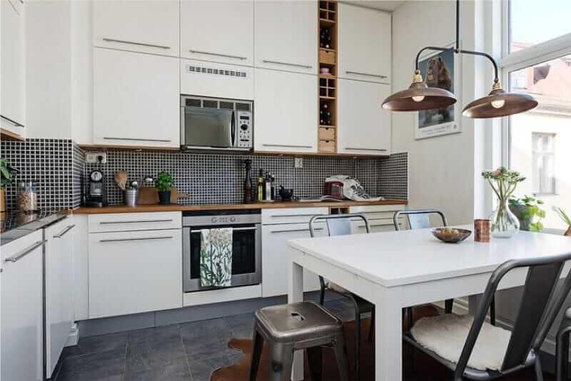 Кухонный фартук - мозаика из керамики