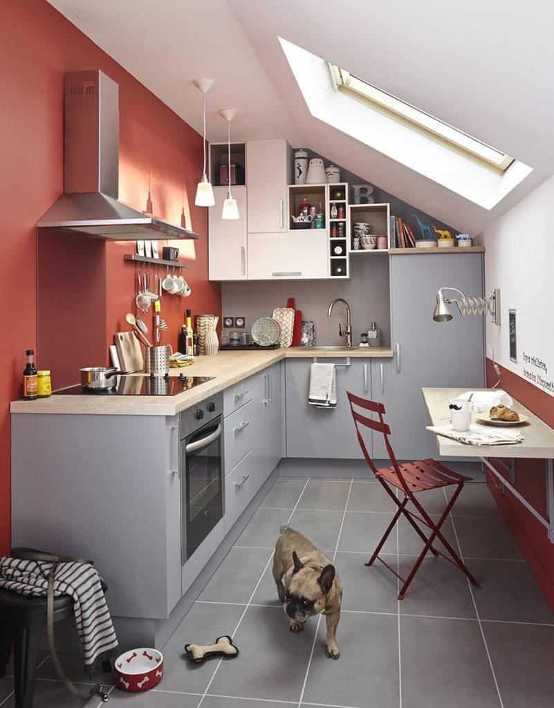Фото маленькой угловой кухни
