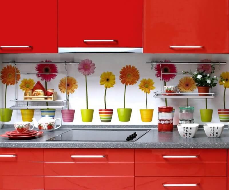 Кухонные ПВХ панели с рисунком