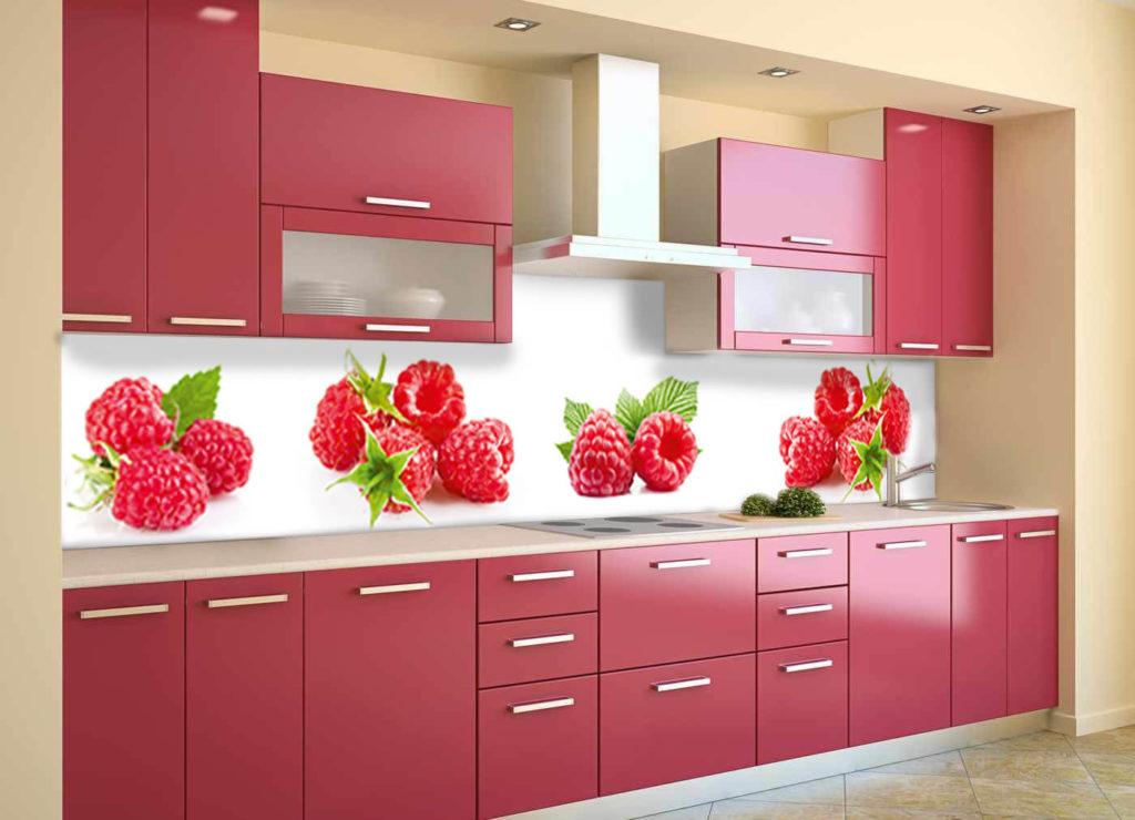 Фото кухонных панелей из АБС пластика