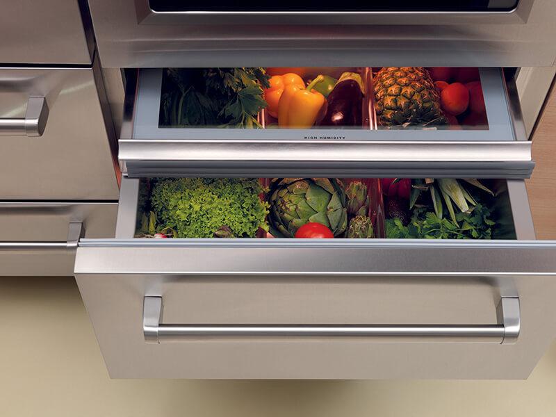 Выдвижной кухонный ящик под фрукты и овощи