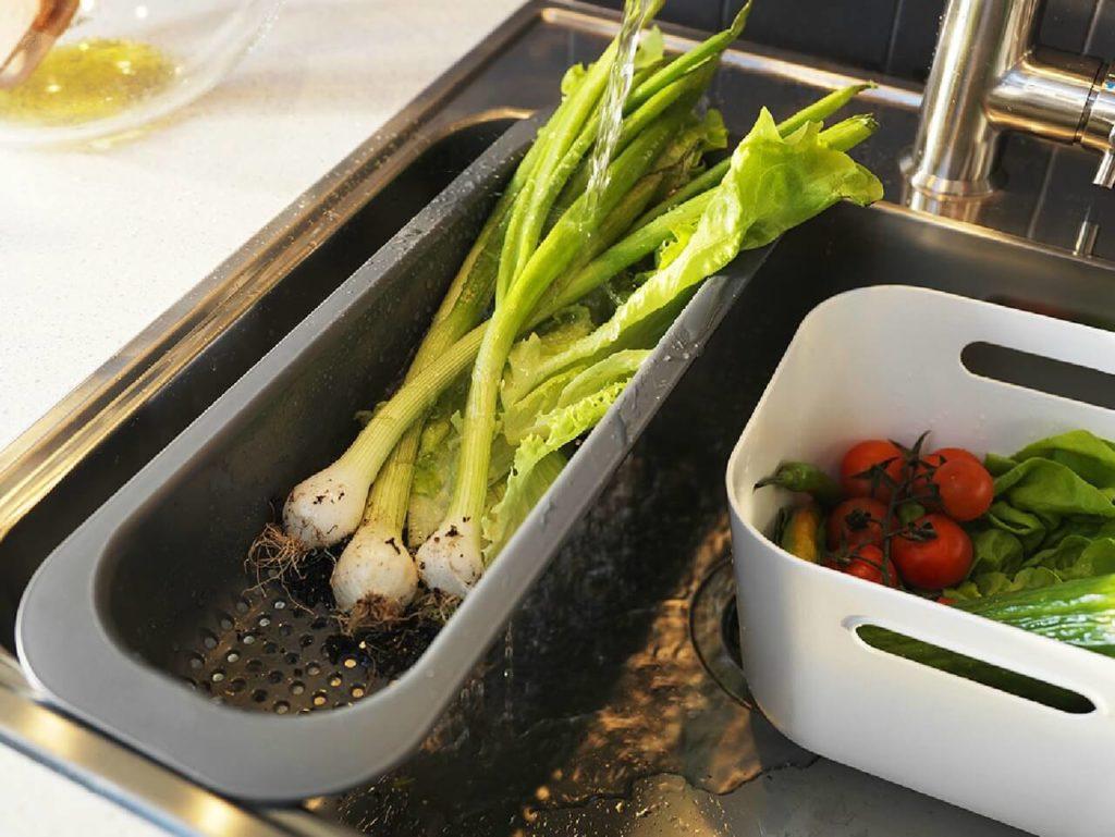 Овощи в мойке