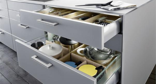 Выдвижные шкафы для посуды