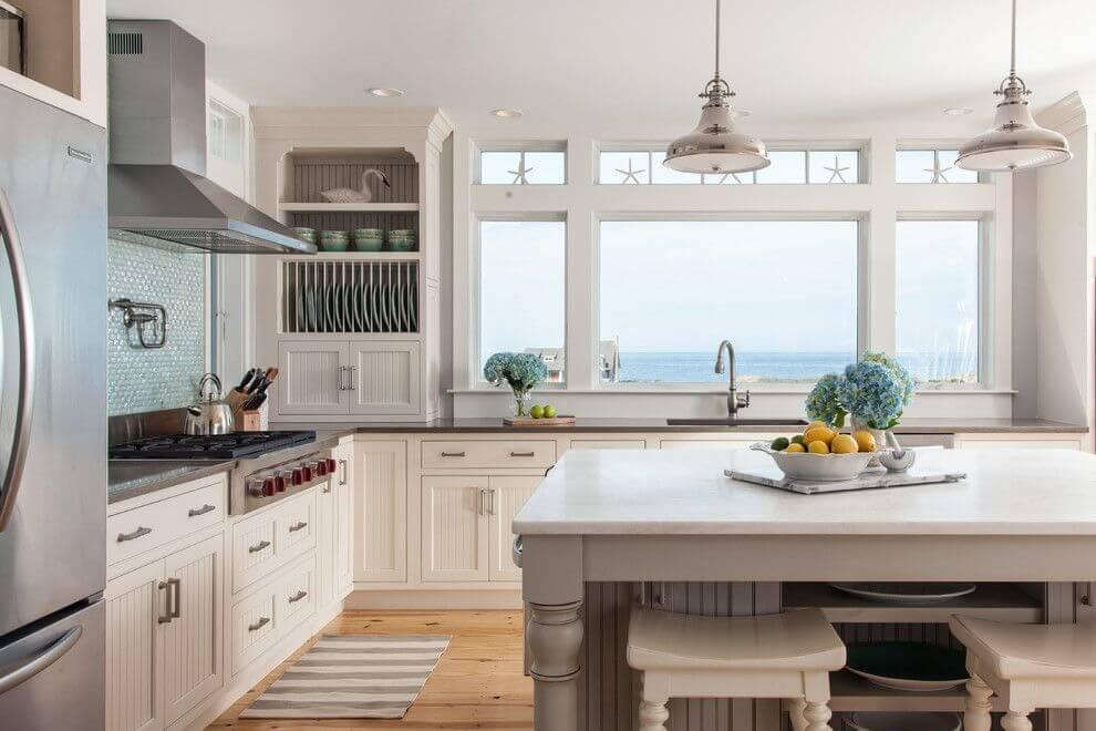 Фото встроенного кухонного гарнитура