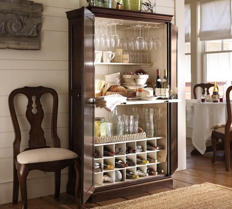 Шкаф-витрина для посуды