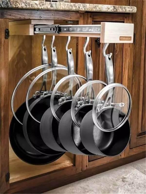 Выдвижная система для сковородок
