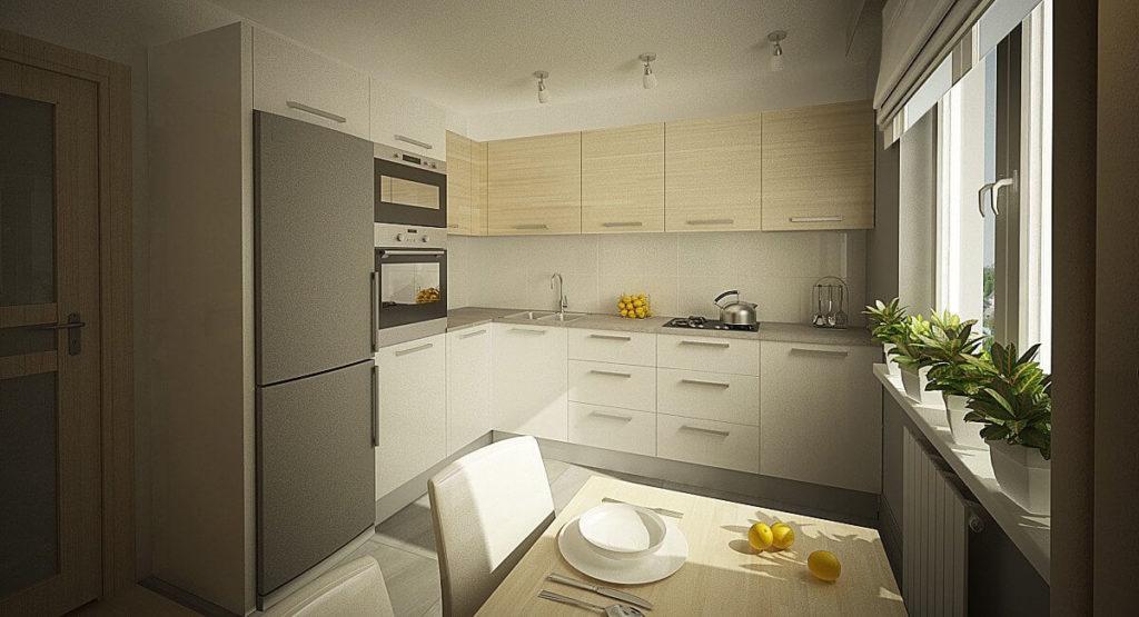 Угловой кухонный гарнитур со стыковочным угловые верхним шкафом