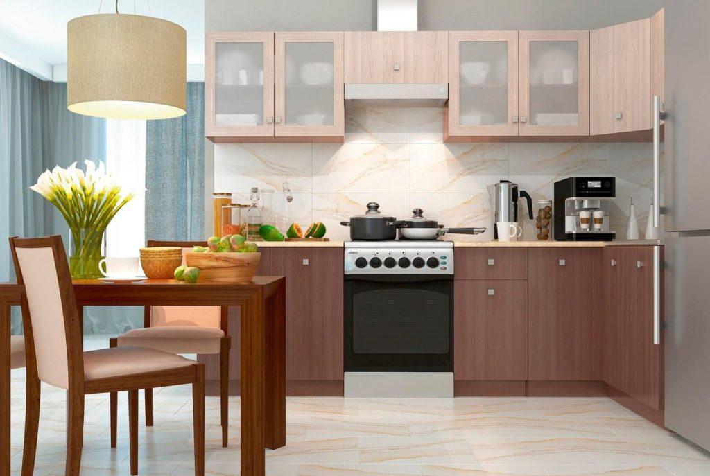 Фото углового кухонного гарнитура