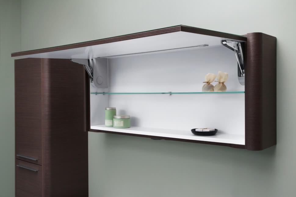 Навесной шкаф с подъёмным фасадом