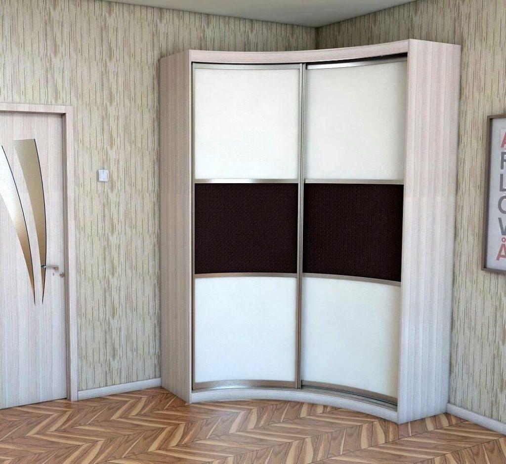 Радиусный шкаф купе - как выбрать, Виды