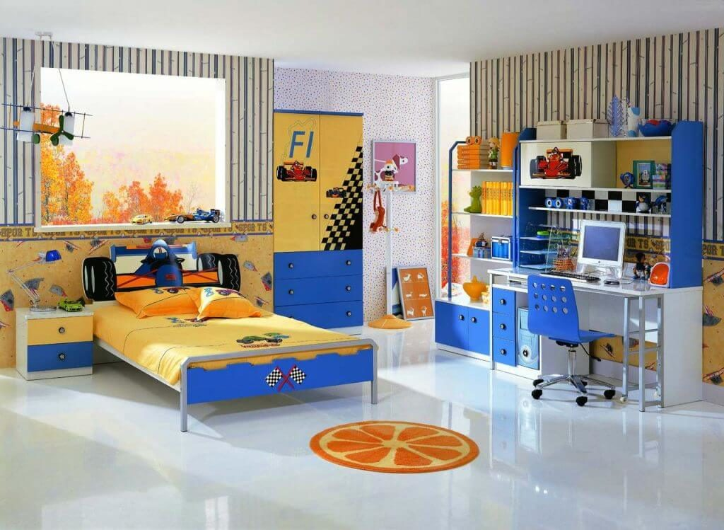 Дизайн детской комнаты мальчика
