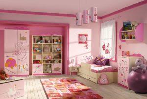 Сказочный интерьер комнаты девочки