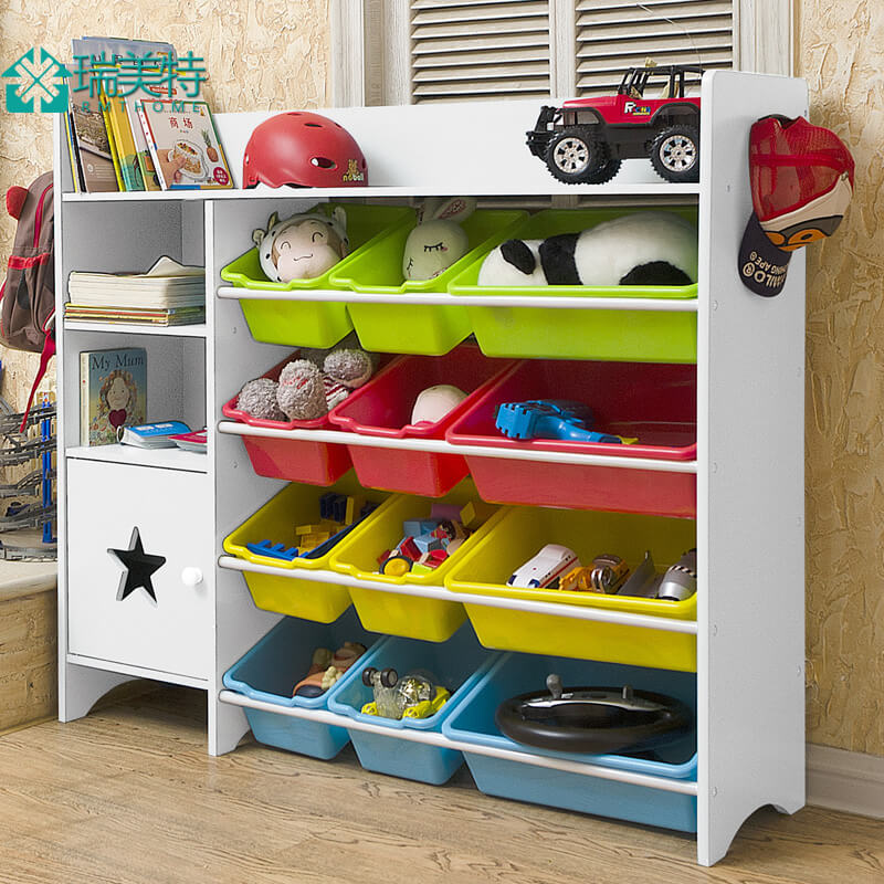 Шкаф с контейнерами для игрушек