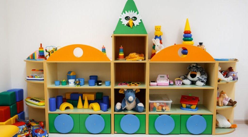 Фото детского шкафа для игрушек