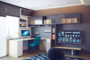 Фото комнаты мальчика подростка