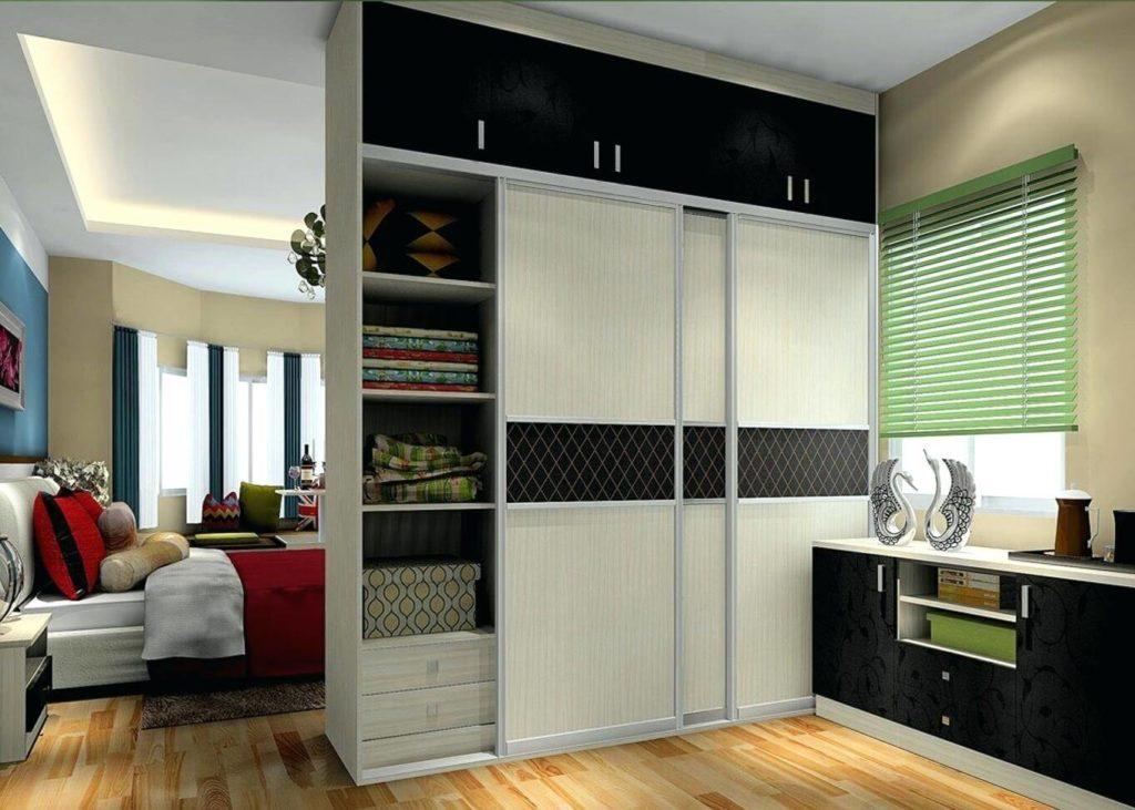 Шкаф купе зонирующий комнату