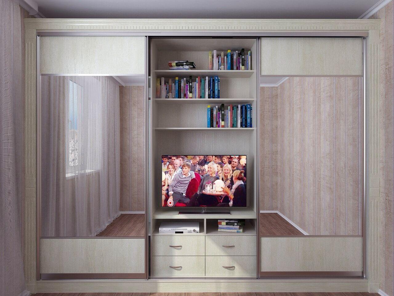 Шкаф под телевизор - модели и правила выбора фото.