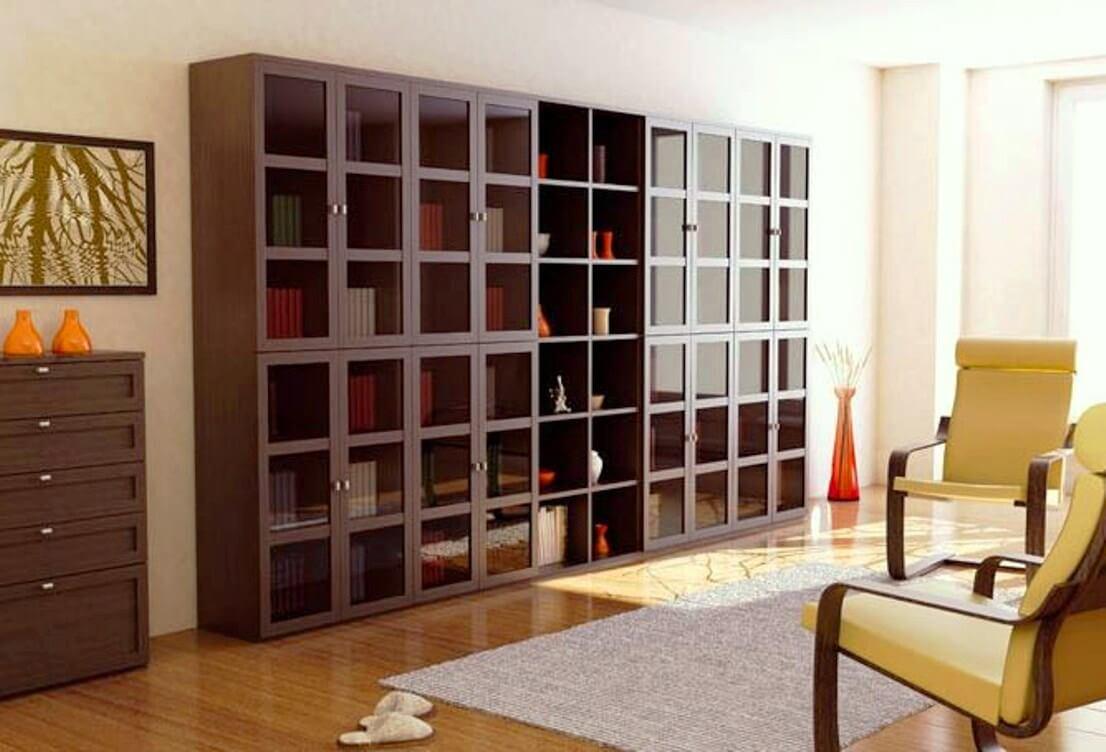 Шкаф в гостиную - как правильно выбрать модели и устройство..