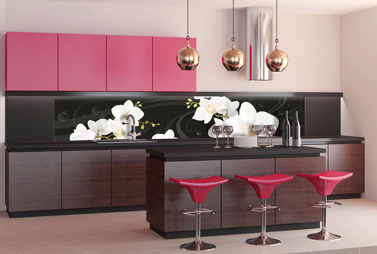 Житомир, кухня черная в цветок купить алматы