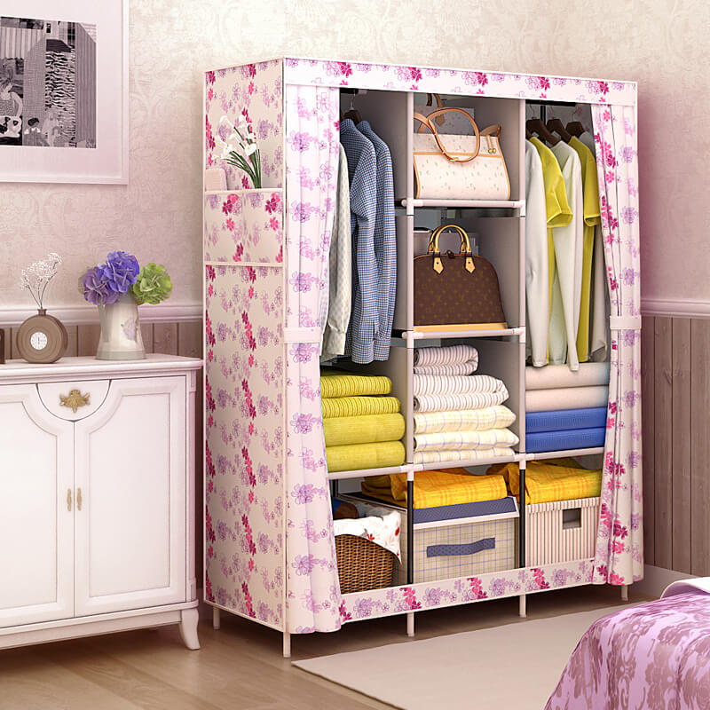 Фото тканевого шкафа для одежды