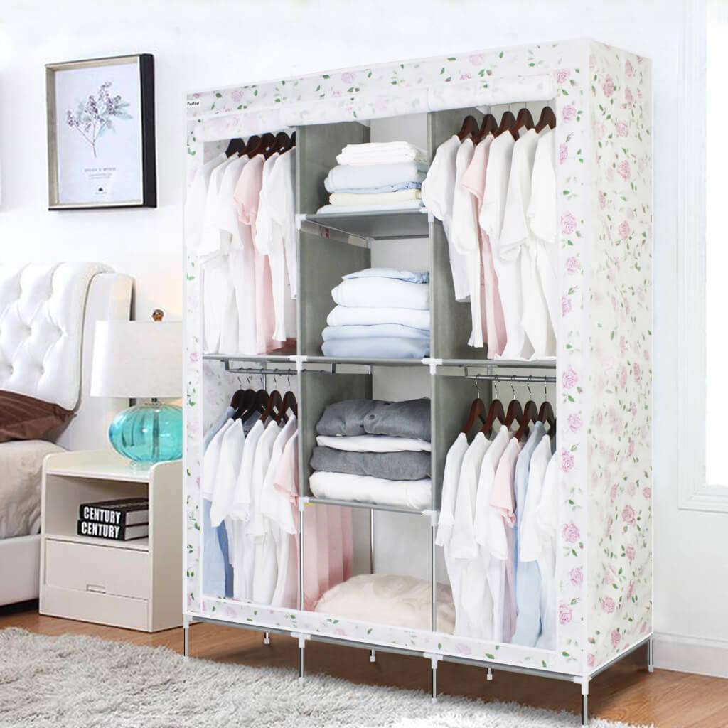 Мобильный разборной шкаф для одежды
