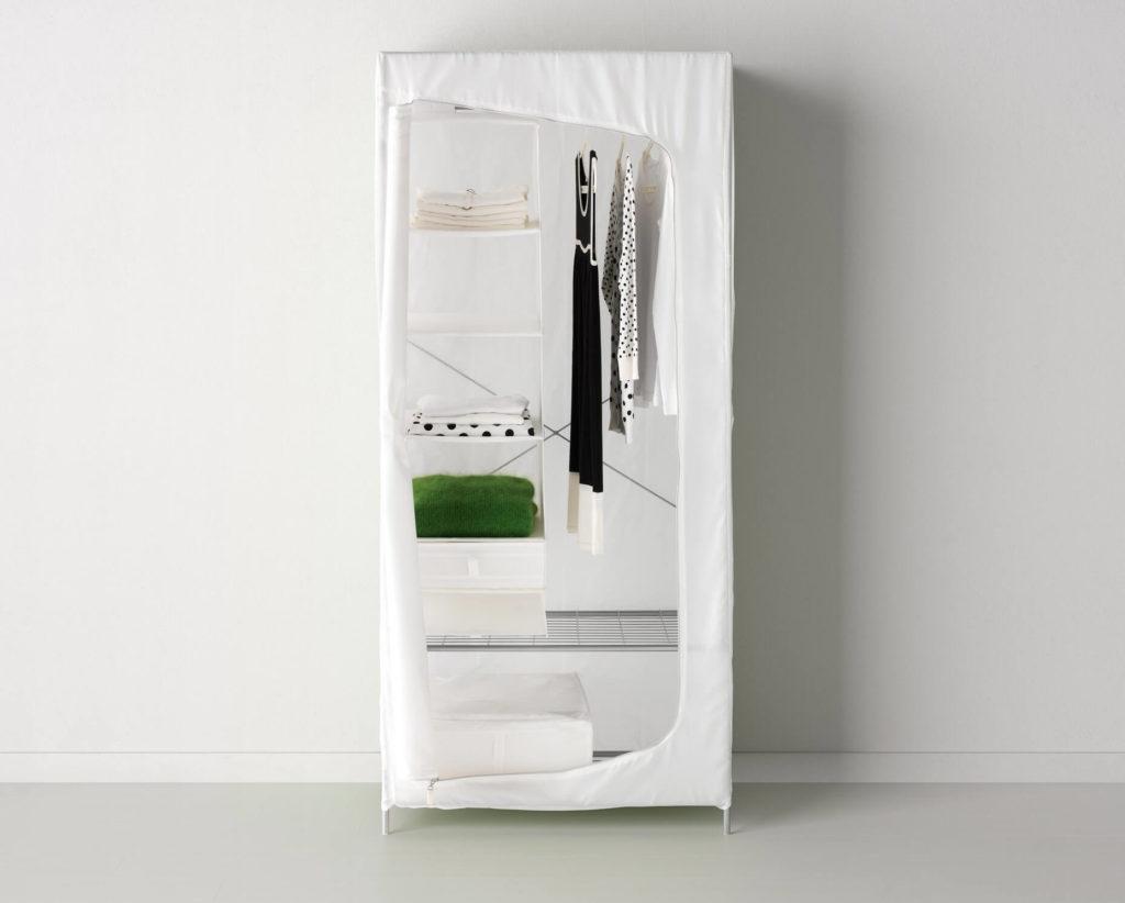 Фото раскладного тканевого шкафа