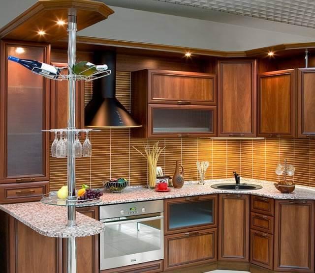 одно кухонная мебель с барной стойкой фото может быть