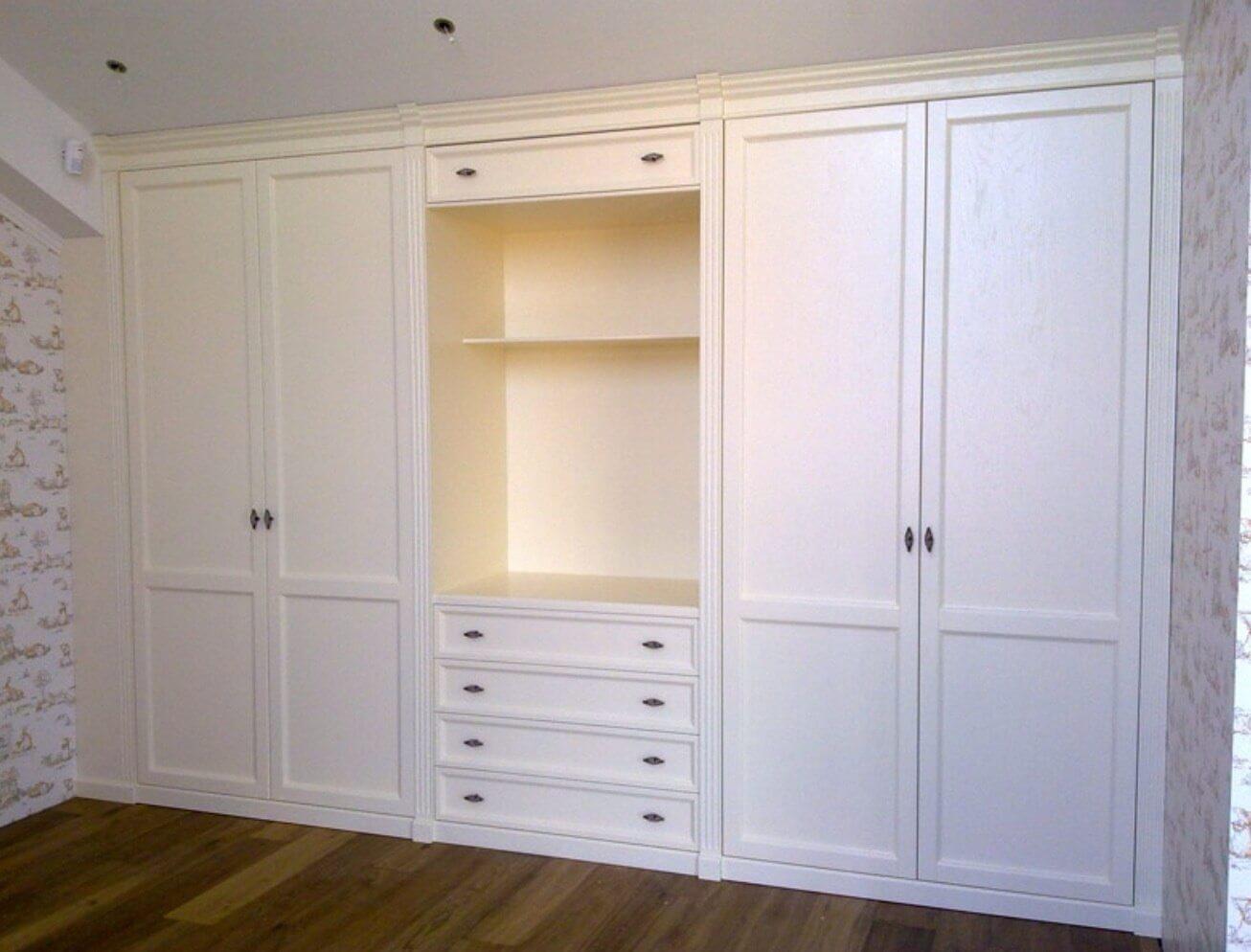 Как выбрать встроенный шкаф - виды и устройство фото.