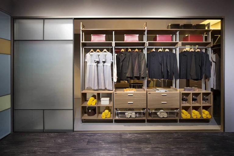 Встроенные шкафы начинка фото