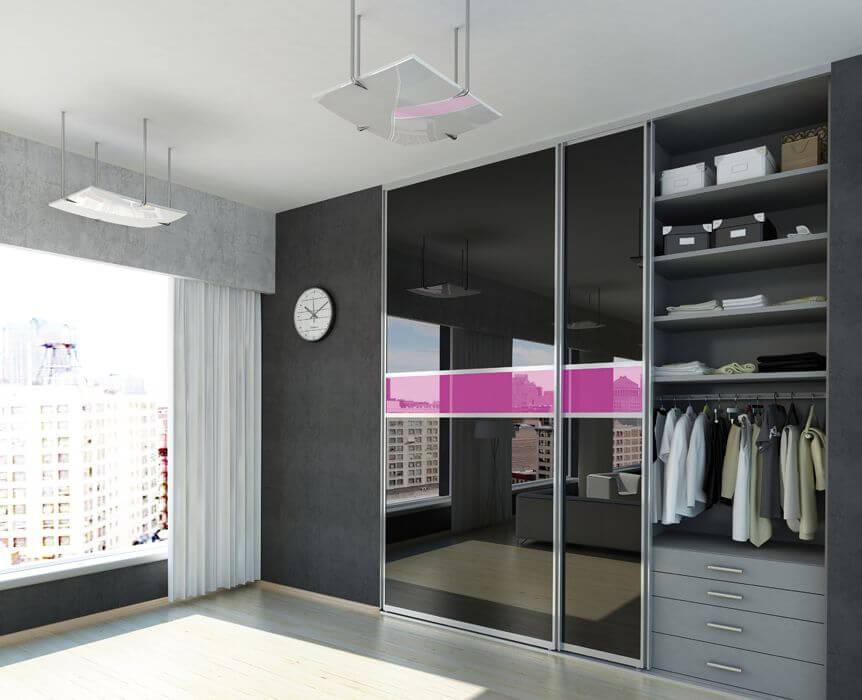 Фото встроенного шкафа в квартире
