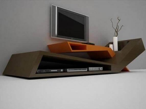 Необычная дизайнерская ТВ тумба