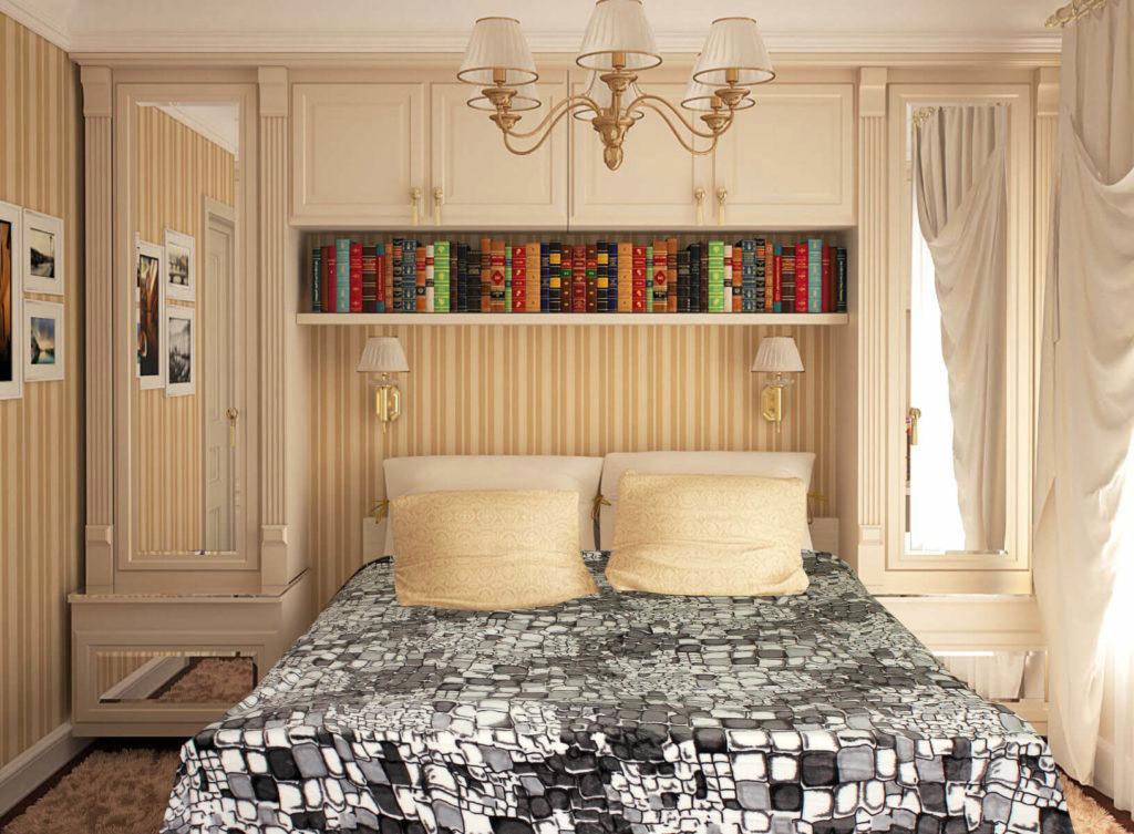 Фото шкафов пеналов в интерьере спальной