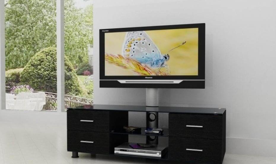 ТВ тумба с кронштейном